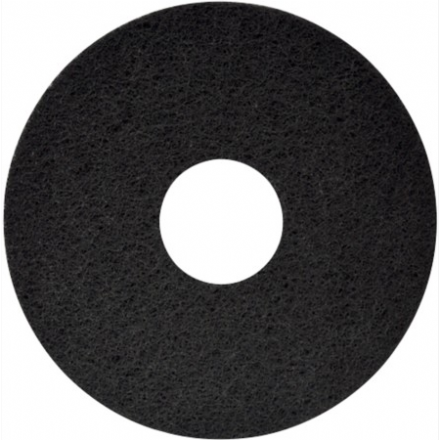 "15"" Black Cleaning Pad"